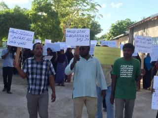 Protest over Faafu Atoll sale
