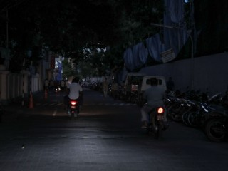 Power Outage for Male'