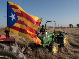 Protests in Catalonia