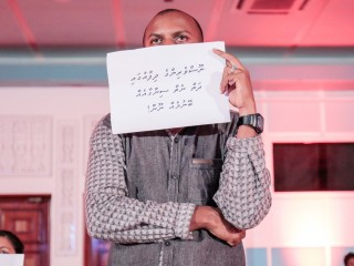 RaajjeTV staff stages silent protest, calling out against the unfair fine imposed by MBC