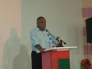 Rally held by Joint Opposition Parties in Vilingili Island in Gaaf Alif Atoll