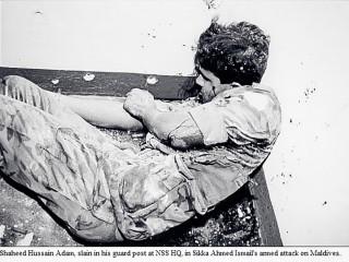 Terrorist Attack of November 3, 1988