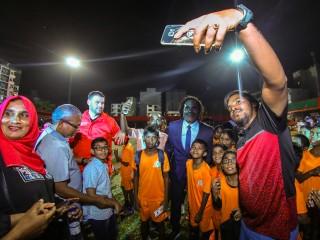 2018 FIFA World Cup Trophy Tour: Maldives
