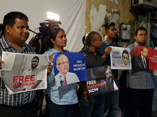 Joint Opposition rallies calling for release of detainees