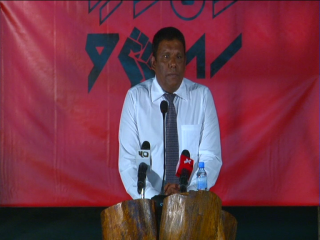 Joint Opposition rally in Haa Alifu Ihavandhoo