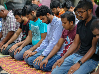 Ramadan 1439: salat in capital city Malé