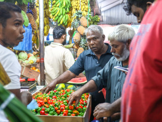 Ramadan 1439: bustling markets of capital city Malé