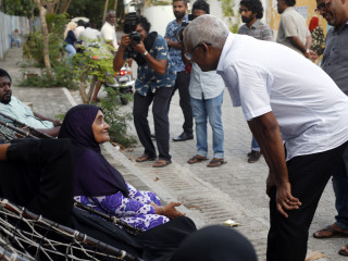 MDP candidate Solih begins the campaign