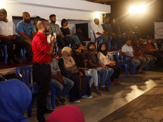 MDP candidate meets the Youth