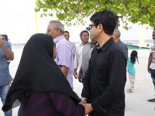 Ahmed Saleem heads to Hoarafushi