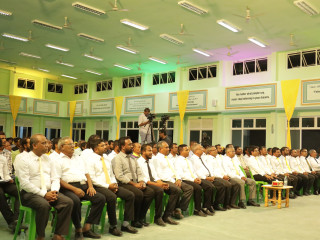 Campaign Launching of Ahmed Saleem who won MDP ticket for Hoarafushi constituency