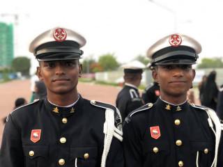 MNDF's 127th anniversary - drill display