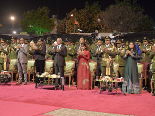 Function held to mark MNDF's 127th anniversary