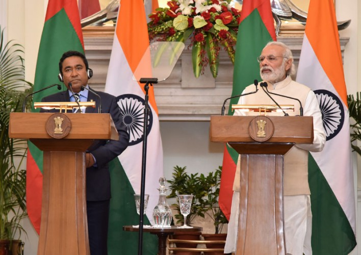 Respect will of people: India to Maldives Prez