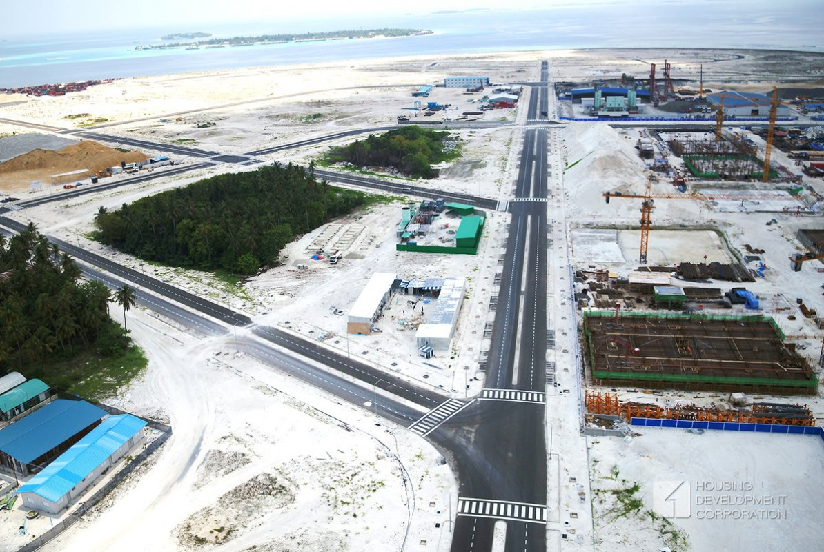 Hulhumalé Phase II roads completed, a year after deadline
